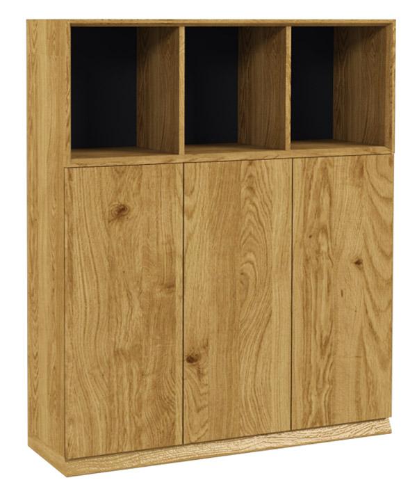 Dulap 3 uși din lemn masiv